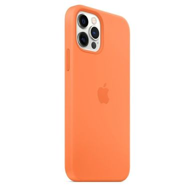 copy_Чехол Apple iPhone 12/12 Pro Silicone Case with MagSafe - Kumquat (MHKY3) HIGH COPY