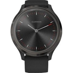 Смарт-часы Garmin Vivomove 3 Slate Stainless Steel Bezel w. Black and Silicone B. (010-02239-01)
